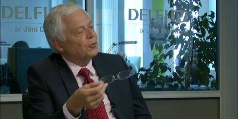 'Delfi TV ar Jāni Domburu': Sesks neatminas draudzību ar 'Par labu Latviju'