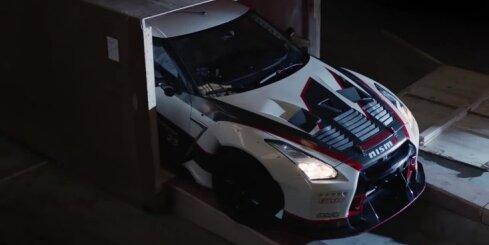 'Nissan GT-R' uzstādījis Ginesa pasaules rekordu ātrākajā driftā