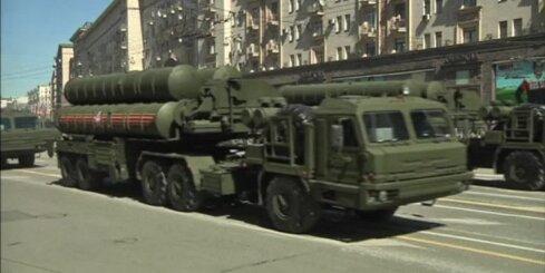 ASV 'satrauktas' par Krievijas raķešu 'S-400' izvietošanu Sīrijā