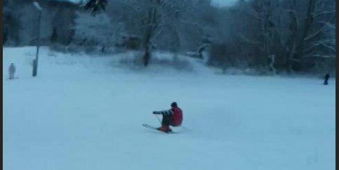 Alūksnē var baudīt ziemas priekus
