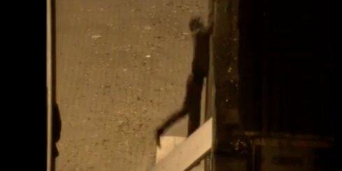 Daugavpilī jaunietis izmēģina savas augstkāpēja spējas