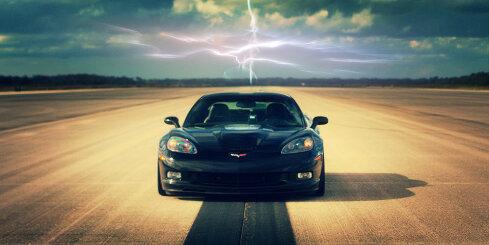 Elektriskais 'Chevrolet Corvette' uzstāda ātruma rekordu