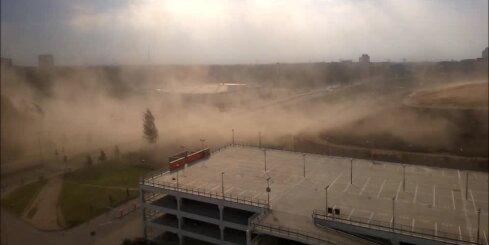 Smilšu vētra Ulbrokas ielā