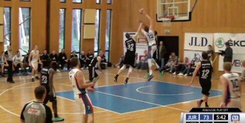 'Aldaris Latvijas Basketbola Līga' - 'Jūrmala/ Fēnikss' - 'VEF Rīga' - 27. aprīļa spēle