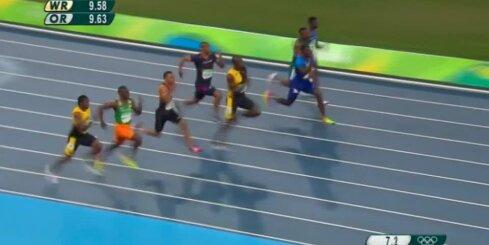 Bolts joprojām nepārspējams olimpiskajā 100 metru sprintā