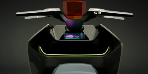 BMW nākotnes motorollera koncepts