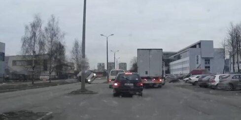Autoavārija Katlakalna ielā