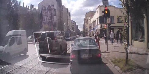 'Dragreiss' Rīgas centrā