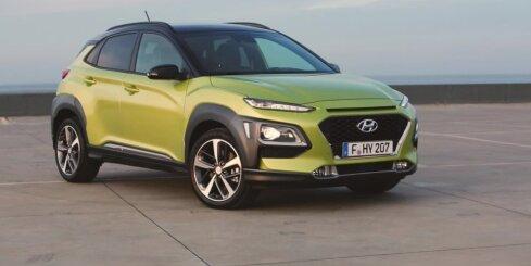Mazais apvidus automobilis 'Hyundai Kona'
