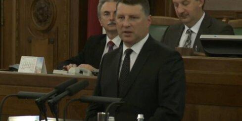 Raimonds Vējonis kļūst par Latvijas Valsts prezidentu