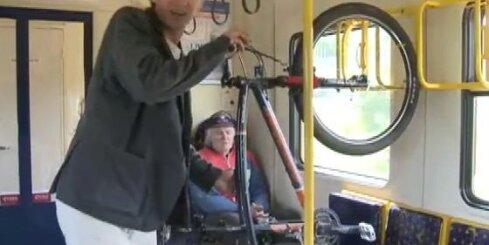 Kā pārvadāt riteni sabiedriskajā transportā?