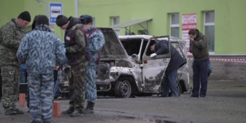 Uzbrukumā Sanktpeterburgā nogalināti divi policisti