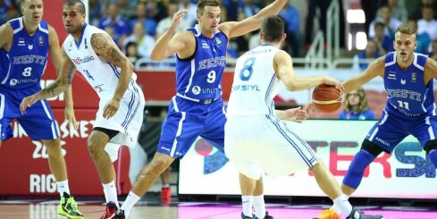 Эстонцы одерживают первую победу в Риге (ВИДЕО)