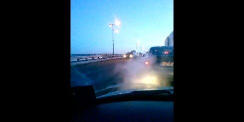 Autoavārija Jelgavā