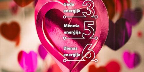 1. februāra numeroloģiskais dienas fons