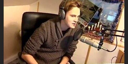 Mūziķis Martin Confused viesojas 'STOPkadrā'