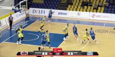 'OlyBet' basketbola līga: 'Ventspils' - 'Ogre'. Pilns ieraksts