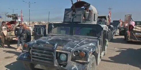 Spēcīgā ofensīvā Irākas spēki 'Islāma valstij' atņēmuši daļu Tikrītas