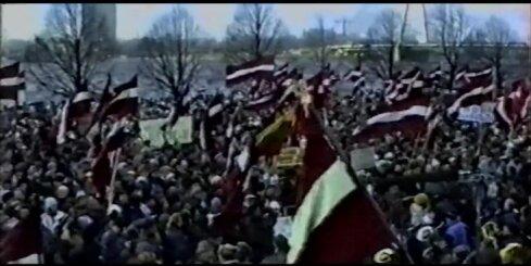 1991. gada valdības pārstāvji atminas barikāžu laiku