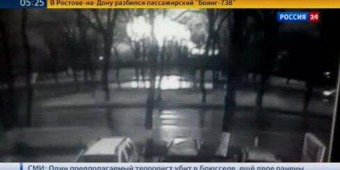 Krievijas dienvidos avarē pasažieru lidmašīna