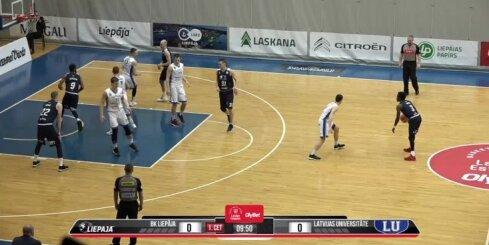 'OlyBet' basketbola līga: 'Liepāja' - LU. Pilns ieraksts