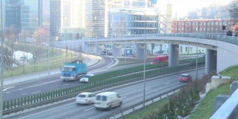 Viļņā atklāts jauns satiksmes pārvads