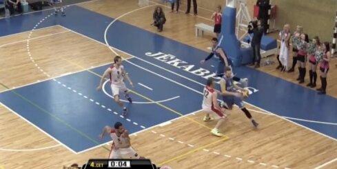 Lieliska BK Jēkabpils uzvara