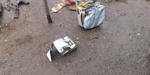 Kas palika pāri no separātistu notriektā Ukrainas armijas helikoptera