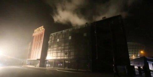 Liepājā viesnīcā ugunsgrēka dēļ evakuēti desmit cilvēki