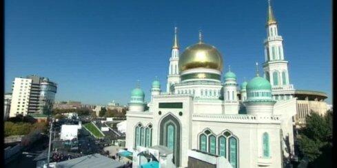 Maskavā atklāta milzīga mošeja