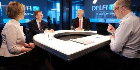 'Delfi TV ar Jāni Domburu' atbild 'Jaunā Vienotība'