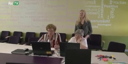 Gulbenes novada seniori apgūst datorprasmes un angļu valodu