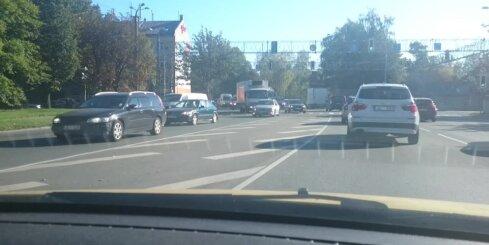 Autoavārija Ulmaņa gatvē