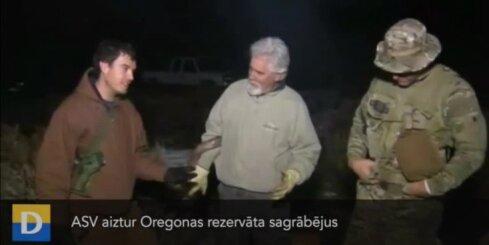 ASV aiztur Oregonas rezervāta sagrābējus