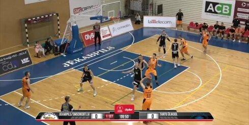 'OlyBet' basketbola līga: 'Jēkabpils/SMScredit.lv' - 'Tartu Ulikool' (11.11.2018)