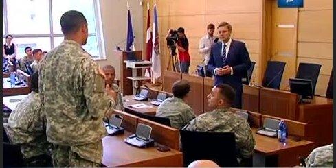 Ушаков встретился с военными НАТО