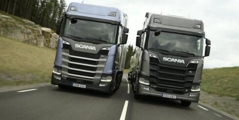Jaunās paaudzes 'Scania' braucienā