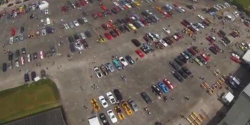 'Ford Mustang' salidojums Vācijā
