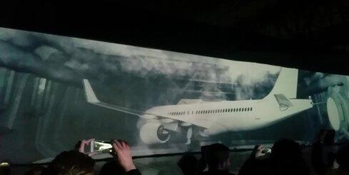 'airBaltic' svinīgā ceremonijā atklāj 'Bombardier CS300' lidmašīnu