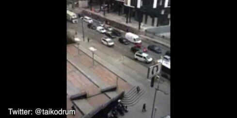 Sprādziens Briseles metro izraisa pamatīgus sastrēgumus