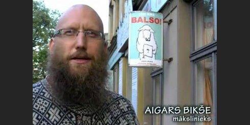 Aigars Bikše par vēlēšanām