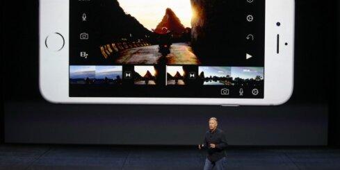 Jaunais 'Apple iPhone 6S' ar '3D Touch' tehnoloģiju