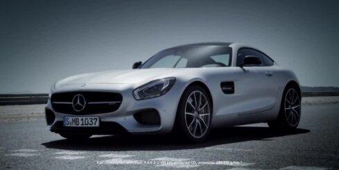 'Mercedes-Benz' prezentējis 'SLS AMG' pēcteci