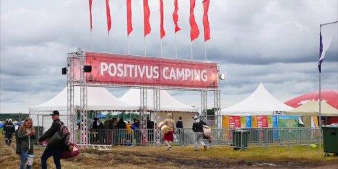 'Positivus' atklāj telšu pilsētiņu; pirmie festivāla fani jau klāt!