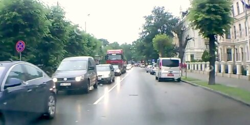 Sastrēgums Elizabetes ielā