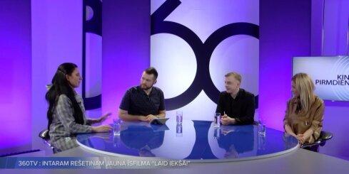Diskusija par Intara Rešetina jauno filmu 'Laid iekšā'