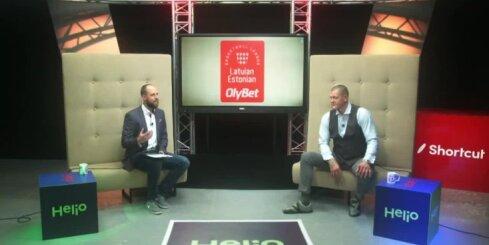 Kambala un Šēnhofs diskutē pēc 'studentu derbija' Valmierā