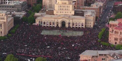 Protesti Armēnijā