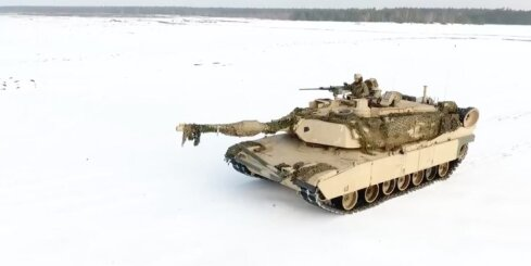 Iespaidīgas ASV tanku mācības Polijā