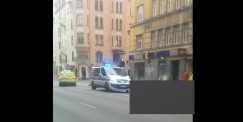 Rīgas centrā traģiskā avārijā iet bojā motociklists